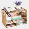 (TRNFA) TN-D35 мода деревянная рамка для принтера A4 данные многоэтажные полки настольные многоцелевые полки офисные документы отделочные многоэтажные шкафы