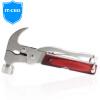IT-CEO Многофункциональный молоток с защитой от ударов молотка с защитой от ударов молотка с гарантией безопасности для молотка с молотком / плоскогубцами / нож / ключ / отвертка / шестигранный ключ Z005