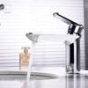 HIDEEP Смеситель для ванной комнаты Смеситель для горячей и холодной воды из латуни hideep 3 отверстия смеситель для ванной комнаты латунный смеситель для ванной комнаты