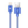 MK Lightning для USB-кабеля для iPhone Кабели для мобильных телефонов с диагональю 0,2 м / 1 м / 2 м / 3 м для iPhone 5 5s 6 6s rombica digital ig 02 usb apple lightning mfi white кабель 0 35 м