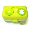 Monbento творческий детский студент столовая посуда ланч коробка микроволновая печь обед коробка японский ланч коробка какао зеленый 3000 01 155