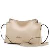 Старая голова (LAORENTOU) женская сумка европейская и американская мода кожа Сумка женский случайный дикий сумка плеча 998J094L1D рис белый сумка женская