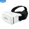 Moqi Si (Mokis) телефон VR виртуальной реальности VR очки 3D-очки, чтобы испытать VR шлем STORM Зеркальные смарт-очки VR-01 белый