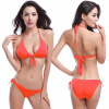 Горячие оптовые Bowknotted Top Removable Padding Strappy 2016 Victoria Style Cheap Bikinis Women Dropshipping SMLXL оптовые базы киев химия где