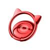 (Baseus) телефон для кошек уха телефон металлический кронштейн для пряжки для Apple / OPPO / Huawei / vivo / просо мобильный телефон рабочий стол ленивый стент красный телефон