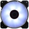 Кос (SCYTHE) SY1225AK120-FF белого цвета ветер 12см вентилятор (LED лампа вентилятора / гидродинамический подшипник / 4pin PWM вентилятор / 400-1500 скорости) пылевой фильтр nexus ff 120 120x120mm