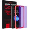 ESK iPhone6 / 6S стали пленка Apple, 6 / 6S стеклянная пленка анти-синий 3D мягкий край Full High Definition черный сотовый телефон взрыва защитная пленка JM118- пленка