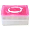 Jingdong [супермаркет] Копье (Suncha) яйцо коробка для яиц кухни холодильника пластикового ящика для хранения два многоцелевых перчаточного ящик DH3010 ручка для холодильника либхер