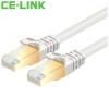 CE-LINK  CAT7 сетевой кабель соединительная линия для  маршрутизатора ce link cat7 плоский кабель 2 м семь типов высокоскоростной двойной экранированный плоский кабель перемычки sstp сетевой маршрутизатор компьютер сетевой кабель 24k позолоченный черный a1539