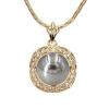 Yoursfs @ Мода ювелирные изделия имитация жемчужина ожерелья и подвески с абажуром Micro AAA кубические циркон женщин ювелирные изделия