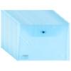 Обширные (Guangbo) установлено 20 толстые бумажные пакеты прозрачных / информационные комплектов оснастка / Канцелярские товары Синего A6399