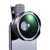 Chong Le (cherllo) 026 телефон Lens Wide Макро черный костюм комбо Apple, iphone проса Huawei Универсальный HD SLR камеры внешняя камера автоспуска 3 in 1 fish eye macro wide angle clip lens white black