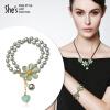 Shes Sin суб ювелирные браслеты ручной работы подарок цветы капать практический зеленый браслет ювелирные браслеты amorem браслет катя