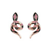 Yoursfs@ Snake Stud Earrings,Thomas Style Glam Fashion Good Jewerly For Women stylish left ear snake style decorative earrings