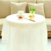 Jinghui думаю о JH0202 скатерть круглый скатерть отель кемпинг толстая одноразовая пластиковая скатерть 10 штук загружен 180 * 180 см