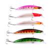 1PC Minnow Fishing Lures 11.5cm-4.53 /13.81g-0.49oz Рыбалка Приманка 5 Цвет Bassbaits 4 # Высокая углеродистая сталь Крюк Рыбалка Снасти