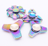 Цвета радуги алюминия металла Tri руки палец Spinner непоседа EDC стол игрушка гироскопа british fashion men business office formal dress breathable genuine leather shoes lace up oxford shoe pointed toe teenage sapato