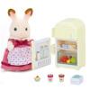 Sambler семья японский бренд принцесса игрушка девочка кукла дом лес семейный дом flocking куклы - шоколад кролик матери мебель наборы SYFC22028