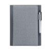 Обширный (Guangbo) Cikou перекидного ноутбук суб-пакет (A5 кожаный ноутбук + шариковая ручка) Бо Джу / серый GBP8608