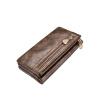 новинка женский кошелек с двойной молнией, черное женское портмоне из PU кожи новинка