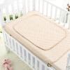 Babyprints новорожденный младенец с мочой цвет колодки хлопок толще моющиеся маты для ухода за менструацией подушка для детской пеленки большие коричневые полосы 2 упаковки babyprints детский альбом