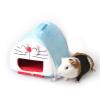 Wo Зай Зай Ji маленький питомец кошка Doraemon форма теплое гнездо хомяков шиншилл еж гнездо гнездо гнездо моющиеся мультфильма мило мини гнездо будет нести M горное гнездо