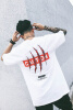 Оригинальный хип-хоп футболки динозавр царапанию печатающие элементы уличного стиля с короткими рукавами футболки