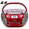 Panda (PANDA) CD-800 CD-плеер DVD-плеер магнитофон магнитофон MP3-карта U диск аудио фетальный учебный автомагнитола (красный) автомагнитола dvd slk350 280 ml350 500 dvd