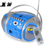 Panda (PANDA) CD-820 CD машина магнитофоны видео машины пренатальной машина DVD-плеер рекордер магнитофоны радио карты MP3 аудио (красный)