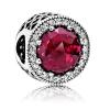 925 PANDORA Pandora красный серебряный вышитый 791725NCC кольцо pandora 925 silverring charm