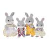 [Супермаркет] Jingdong Senbei детей семьи подарок девушка игрушки игра дом моделирование кукла кукла - кролик Cottontail семья SYFC31348 комарова д пер семья дом
