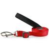 Ruiding собаку (RedDingo) собака товаров для домашних животных собака ошейник с шеи цепь поводок собаки поводок 20мм чистый красный цвет