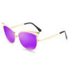 BLUEKIKI YEUX cateye fashion sunglasses women polarized mirror vintage glasses