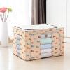 Хуэй дерева の ящик большой хранения 100 литров армирование металлический каркас означает Quilts вспомогательный шкаф для одежды ящик для хранения ящик для хранения