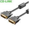 CE-LINK DVI соединительная линия и телевизора и проектора ce link dvi удлинитель для сетевого кабели усилитель сигнала