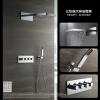 HIDEEP Настенный дождь смеситель для душа хром латунь ванной душ очень большой верхний душ насадка насадка для душа набор для душа душ смеситель для душа пакет 09916