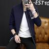 Новый молодежи 2017 среднее и длинное издание широкая мужчина куртка прилив мужской пар, принятой пальто куртки пиджак мужской