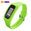 SKMEI Women Fashion Sports Watches Pedometer Calorie Sport Mileage Digital Watch Girl Colorful Silicone Strap Wristwatches 1207