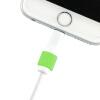 Snowkids Apple, телефонная линия / выкл анти-трещины, предотвращая зарядный кабель протектор зеленый подходит iPhone7 / 7P / 6 / 6S / 6P / 6SP / 5S / SE / 5C / 5 и т.д. гарнитура a4tech hs 7p