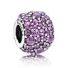 925 PANDORA Pandora пурпурных тонов роса серебряной струны украшение 791755CFP браслет цепь other 17 1 925 pandora