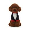 Бо Вэнь Сюн (BOWENBEAR) Бронте собака кукла плюшевые игрушки куклы модели перевязочные темно-коричневый 32см высокой