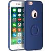 Телефон Чехол для iPhone 6 6s Ultra Тонкий Slim Обложка Простой PC Back Ring Holder 360 ° Защита вращения для iPhone 6 6s nexx ultra s чехол для iphone 6 red