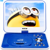 Ющенко (SAST) 32C портативный мобильный DVD-плеер (Qiaohu DVD CD-плеер петь старый театр USB видео оборудование CD-плеер 9 дюймов) синий портативный cd плеер с джойстиком