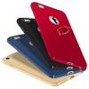 все цены на Телефон Чехол для iPhone 6 6s Ultra Тонкий Slim Обложка Простой PC Back Ring Holder 360 ° Защита вращения для iPhone 6 6s онлайн