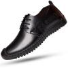 Мужская обувь, повседневная обувь Луис Маркс мягкой дышащей обуви помочь низкий круглый низ черный 41 289 низ