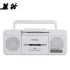 熊猫(PANDA)6516 两波段便携收录机 录音机 磁带/USB相互机转录 收音MP3播放机 插卡音响播放器 德劲(degen)de36 全波段收音机 插卡mp3音响 校园广播 高考四六级听力考试