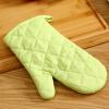 Европа Юн Чул изолированные перчатки микроволновой печи светло-зеленый хлопка перчатки микроволновые печи