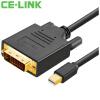 CE-LINK Mini DP к DVI HD соединительная линия проектора ce link dvi удлинитель для сетевого кабели усилитель сигнала