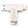 banq A50 Мобильный телефон Apple U диск 64G Apple официальный MFI авторизованная сертификация iPhone / iPad двойной интерфейс USB3.0 мобильный телефон с двойным использованием U диск Plus версия жемчужного серебра мобильный телефон apple iphone plus 16g 64g 128g 3g