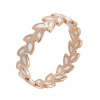 Yoursfs@   Luxury Wheat Shape Big Rings For Women Wheat Statement Ring Engagement wholesale Jewelry Leaves Design yoursfs luxury wheat shape big rings for women wheat statement ring engagement wholesale jewelry leaves design